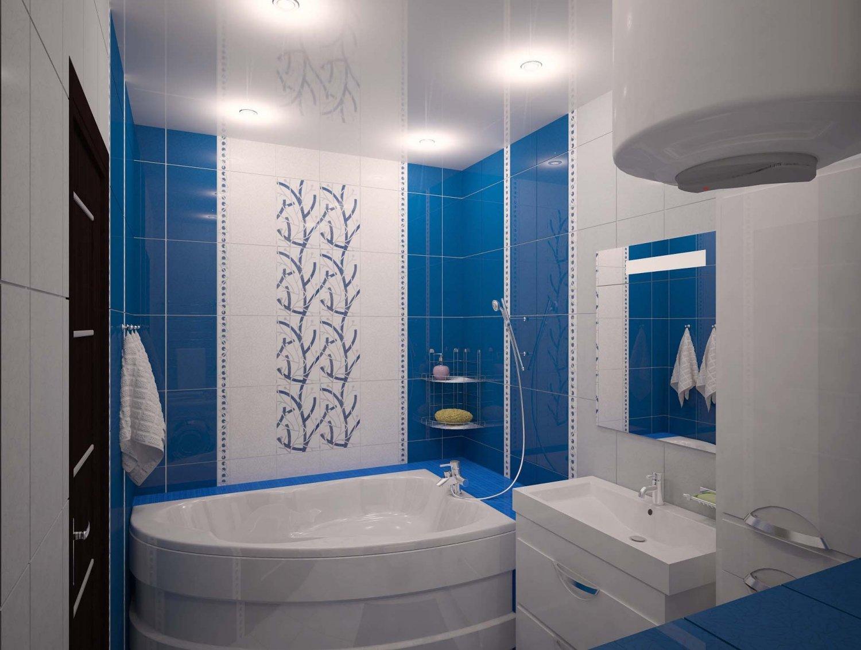 Дизайн ванной комнаты 2 на 4 метра
